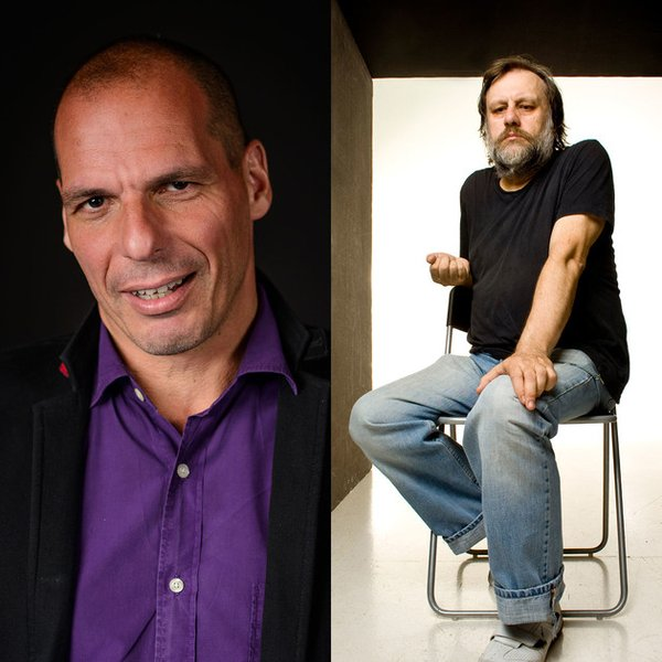 Zizek and Varoufakis in coversation about the future of Europe! November 16, 2015  Royal Festival Hall, London.jpg